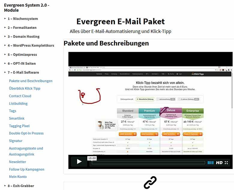 Videothemen E-Mail-Software